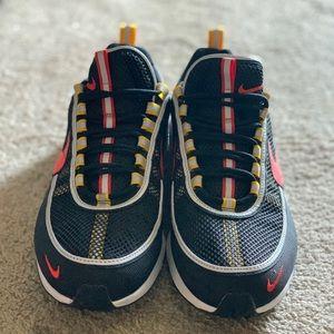 Nike Air Zoom Spiridon Black & Habanero red